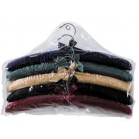 Buy cheap more colors choice  for luxury Sponge Satin  cotton padded clothes hanger for girl and women from wholesalers