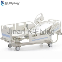 Buy cheap Multifunctional Weighing System Patient ICU Hospital Bed Electric Nursing Bed from wholesalers