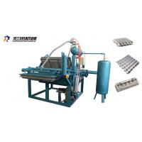 Buy cheap Small Paper Pulp Moulding Machine , Small Egg Tray Making Machine 1000pcs/h from wholesalers