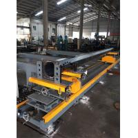 Table for fit up flange and pole automatic centering, leveling, feeding Manufactures