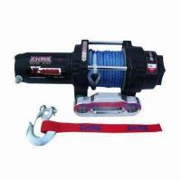 Buy cheap Electric Winch with 4,000lbs Rated Line Pull for UTV with Independent Braking System from wholesalers