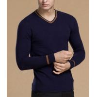 Buy cheap Men's Long Sleeve v-neck Wool Sweater from wholesalers