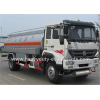 Howo Waste Chemical Fuel Tanker Trailer Truck 10 CBM With Carbon Steel Tank Manufactures