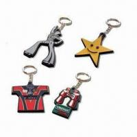 Wholesale Fancy Keychains, Customized Logos, Patterns, Designs and Sizes Accepted from china suppliers
