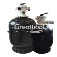 Buy cheap Eco Friendly Water Filtration Top Mount Sand Filter Black Sand Cleaning Machine from wholesalers