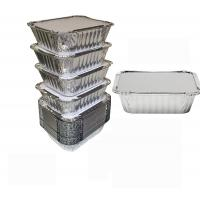 Buy cheap 8011 Disposable Aluminium Foil Trays , Disposable Microwavable Foil Containers from wholesalers