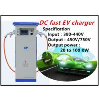 level 3 EVSE quick DC EV charger manufacturer China advanced EV fast charging equipment solution provider Manufactures