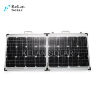 Wholesale Tempered Glass 100W Fold Up Solar Panels16% Module Efficiency For Golf Cars from china suppliers