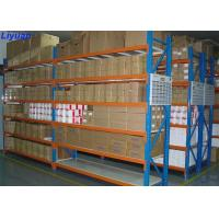 Buy cheap Storehouse Storage Long Span Racking System Steel Garage 200-800kgs / Level from wholesalers