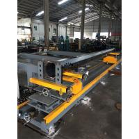 Tapered Light Pole Welding Machine Fit Up Table Pole Body And Flange Welding Manufactures