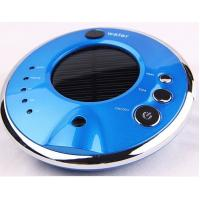 Buy cheap Air freshener solar car air purifier shell with negative ion HDJHQ3-2 blue color from wholesalers