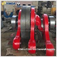 Wholesale Mud Pump Spares Crankshaft Assembly AH36002-02.00 AH37001-01.00 BOMCO F1300/1600 from china suppliers