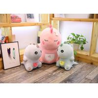 Wholesale Cute Pink Dinosaur Soft Toy Doll Handcuffs Two In One Plush Toy CE Approved from china suppliers