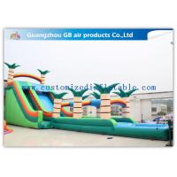 Buy cheap Colorful Funny Toy Kids Inflatable Water Slides For Outdoor Amusement Park from wholesalers