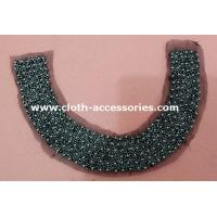 Buy cheap 46G Fashionable Round Vintage Beaded Collar With Eco - Friendly Plated from wholesalers