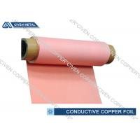 Buy cheap 12μm - 100μm Single - Shiny Treated RA Electrodeposited Copper Foil Rolls from wholesalers