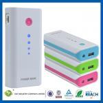 Buy cheap Laptop / iPad Portable Power Banks , 5600mAh USB Iphone / Samsung / HTC Slim Power Bank from wholesalers