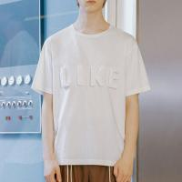 Buy cheap Unisex T Shirt Embossed Printing , Customized Cool Design T Shirts For Men from wholesalers