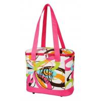 Buy cheap SALE Multi Colored Swirls Cooler Tote Bag FREE MONOGRAM-tote picnic lunch bag from wholesalers