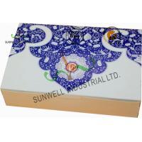 Buy cheap Both Sides Printing Cardboard Food Packaging Boxes , Mooncake Display Packaging Box product