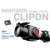 Buy cheap High Precision Clip On Thermal Sight , 50Hz Frame Rate Thermal Imaging Clip On Scope from wholesalers
