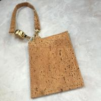 Buy cheap Popular Natural Cork Money Clip Credit Card Holder with Handle from wholesalers