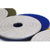 Buy cheap Fast Change Diamond Polishing Pads , 4 Dry Concrete Polishing PadsExtremely Long Life from wholesalers