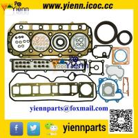 Buy cheap WB93R-2 backhoe loader engine parts Yanmar 4TNE106 S4D106 Full Gasket kit 723900-92660 723900-92600 with head gasket from wholesalers