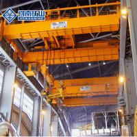 Buy cheap Double Beam 40 Ton Foundry Crane 100kn Rated Lifting Heat Resistant Long Life from wholesalers