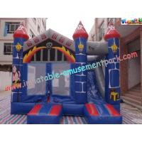Buy cheap Waterproof Commercial Inflatable Bouncer Slide For Kids With PVC Tarpaulin product