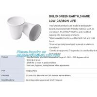 Buy cheap SUGARCANE CUPS PLATE BOWL CONTAINERS, ECO FRIENDLY BIOGERADABLE CULTERY, PLA TRAY, STARCH BASED PRODUCTS BAGEASE PACKAGE from wholesalers