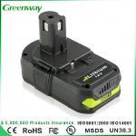 Buy cheap High quality power tool battery Ryobi P107 18V 3000mAh battery from wholesalers