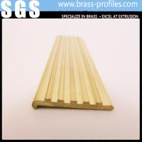 Buy cheap C38500 Safety Curved Brass Tile Edging DIY Brass Edging Strips from wholesalers