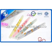 Fluorescent Water Colored Pencils Set Double Side With Cartoon Picture Manufactures