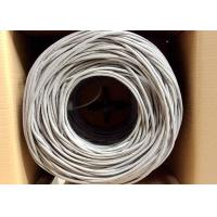 Buy cheap UTP Cat.5e 0.5CCA/ BC 4Pairs 24AWG Network lan Cable 305M Pull Box from wholesalers