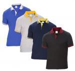 Buy cheap Custom polo t-shirt men plain short sleeve polo shirt  summer tshirt for men from wholesalers