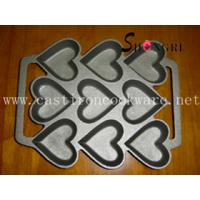Wholesale cast iron heart bakeware from china suppliers