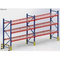 Buy cheap Steel Heavy Duty Storage Wire Pallet Rack 100-5000kgs Load Capacity Powder Coated from wholesalers