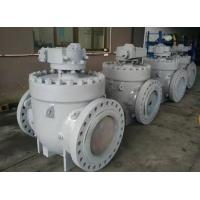 Buy cheap Top Entry Soft Seated Ball Valve , ISO 5211 Anti Static API 6D Ball Valve from wholesalers