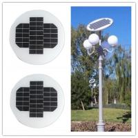 Wholesale 12 Volt 150W Circle Solar Panel Aluminum Alloy Frame For Outside Led Lamps from china suppliers