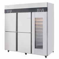 Buy cheap Stainless steel freezer refrigerator fridge warmer bread display cabinet from wholesalers