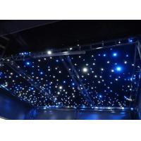 Buy cheap AC220V Commercial LED Curtain Lights  Blue / White Bead Background Wedding Stage Star Cloth from wholesalers
