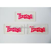 Buy cheap New transparent badges custom soft pvc silicone cheap logo badges for clothing product