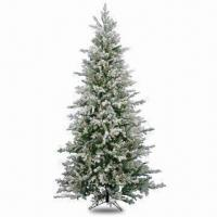 Buy cheap Wrapped Style Artificial Monroe Pine Christmas Tree with Metal Stand from wholesalers