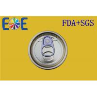Wholesale 52mm Food Can Steel Easy Open Lid For Canned Tuna Fish , Pop Top Can Ends from china suppliers