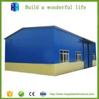 Buy cheap prefabricated steel shade structure small warehouse drawings design from wholesalers