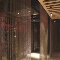 Buy cheap High quality fashion decorative metal ball chain curtain for room divider partition from wholesalers