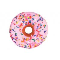 Buy cheap Novel and creative plush cushion pillow, printed color pattern of doughnut pillow, 35cm ring shape pillow custom-made from wholesalers