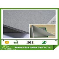 Buy cheap A4 Sample Size Sheet / Roll Grey Chipboard Good Stiffness with Recycled Paper product