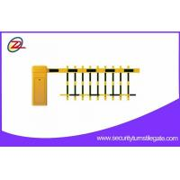 Security Parking Vehicle Barrier Gate , Automatic Access Road Barrier Gate , ID card management Manufactures